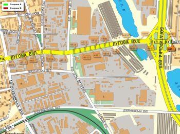 Карта - Троллы на Лугова вул.(конструкция №4801)