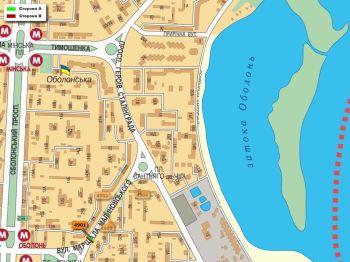 Карта - Троллы на Маршала Маліновського вул.(конструкция №4901)