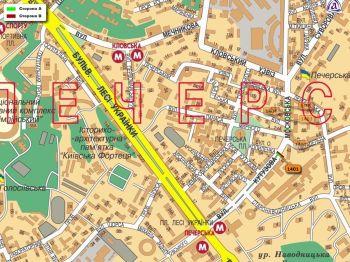 Карта - Троллы на Московська вул.(конструкция №1401)