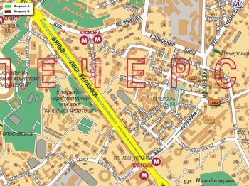 Карта - Троллы на Московська вул.(конструкция №1402)