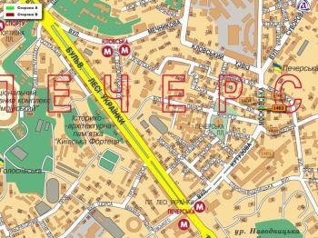 Карта - Троллы на Московська вул.(конструкция №1403)