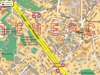 Карта - Троллы на Московська вул.(конструкция №1404)