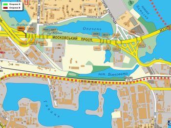 Карта - Троллы на Московський пр-т(конструкция №2801)