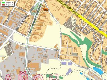 Карта - Троллы на Народного ополчення вул.(конструкция №7101)