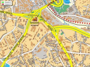 Карта - Троллы на Науки пр-т(конструкция №7201)