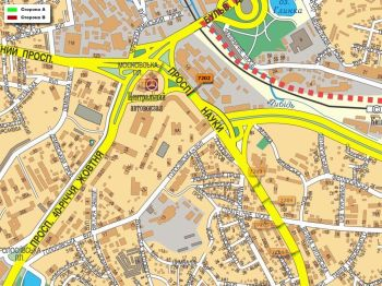Карта - Троллы на Науки пр-т(конструкция №7202)