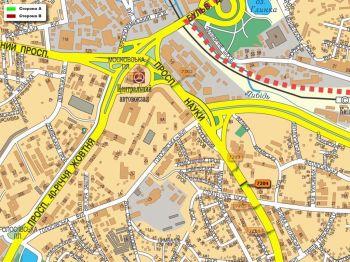 Карта - Троллы на Науки пр-т(конструкция №7204)