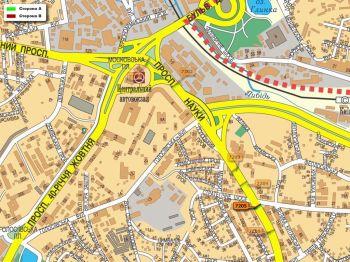 Карта - Троллы на Науки пр-т(конструкция №7205)