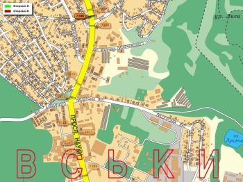 Карта - Троллы на Науки пр-т(конструкция №7208)