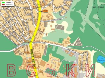 Карта - Троллы на Науки пр-т(конструкция №7209)