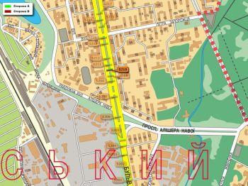 Карта - Троллы на Перова б-р(конструкция №5210)