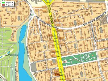 Карта - Троллы на Перова б-р(конструкция №5219)