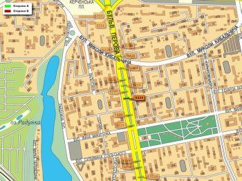 Карта - Троллы на Перова б-р(конструкция №5223)