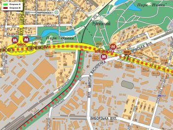Карта - Троллы на Перемоги пр-т(конструкция №3020)