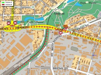 Карта - Троллы на Перемоги пр-т(конструкция №3022)