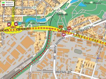 Карта - Троллы на Перемоги пр-т(конструкция №3024)