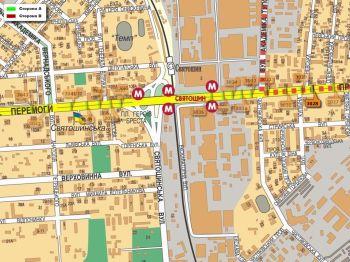 Карта - Троллы на Перемоги пр-т(конструкция №3028)