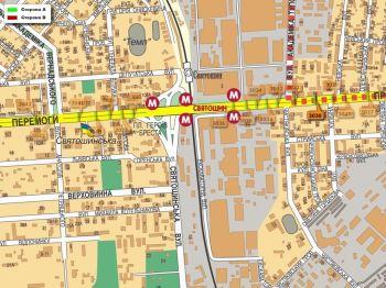 Карта - Троллы на Перемоги пр-т(конструкция №3030)