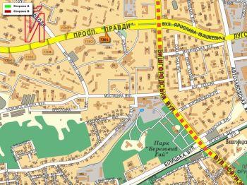 Карта - Троллы на Правди пр-т(конструкция №7301)