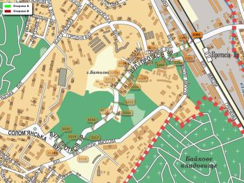 Карта - Троллы на Протасів Яр вул.(конструкция №3201)