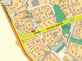 Карта - Троллы на Ромена Ролана б-р(конструкция №8401)