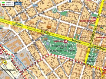 Карта - Троллы на Т.Шевченка б-р(конструкция №906)