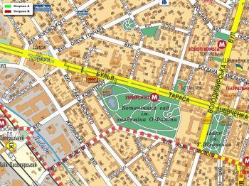 Карта - Троллы на Т.Шевченка б-р(конструкция №907)
