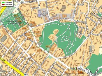 Карта - Троллы на Солом`янська вул.(конструкция №3301)