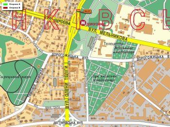 Карта - Троллы на О.Теліги вул.(конструкция №5127)