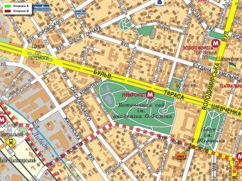 Карта - Троллы на Л.Толстого вул.(конструкция №1001)