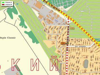 Карта - Троллы на Туполєва вул.(конструкция №7701)