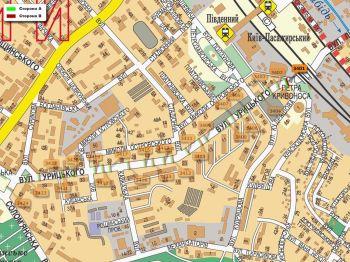 Карта - Троллы на Урицького вул.(конструкция №3401)