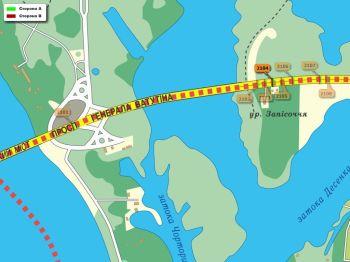 Карта - Троллы на Ватутіна пр-т(конструкция №2104)