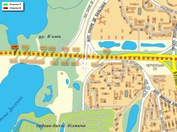 Карта - Троллы на Ватутіна пр-т(конструкция №2109)