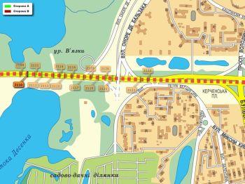 Карта - Троллы на Ватутіна пр-т(конструкция №2110)