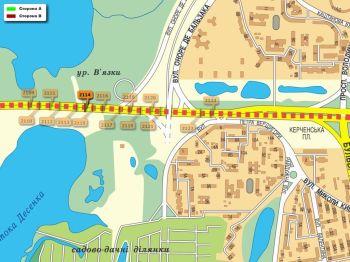 Карта - Троллы на Ватутіна пр-т(конструкция №2114)