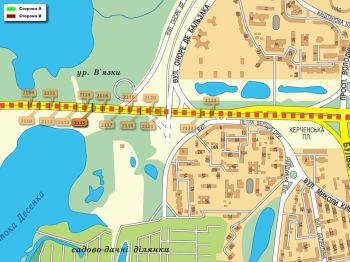 Карта - Троллы на Ватутіна пр-т(конструкция №2115)
