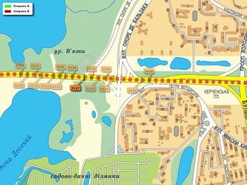 Карта - Троллы на Ватутіна пр-т(конструкция №2117)