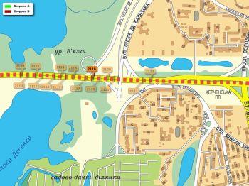 Карта - Троллы на Ватутіна пр-т(конструкция №2118)