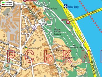 Карта - Троллы на Січневого повстання вул.(конструкция №1603)