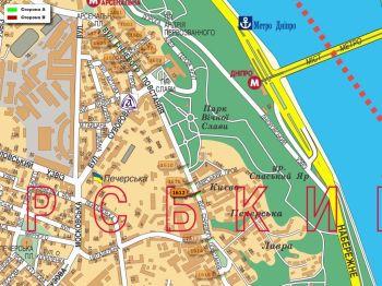 Карта - Троллы на Січневого повстання вул.(конструкция №1612)